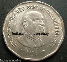 India Inde Indien 1996 Sardar Patel Police UNC New 2 Rs