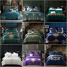 Floral Doona Duvet Quilt Cover Set King Queen Size Bed Linen Pillowcase Set New