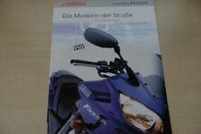 202131) Yamaha FZS 1000 Fazer Prospekt 2001