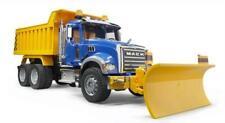 Bruder 02825 MACK Granite Dump Truck with Snow Plow Blade