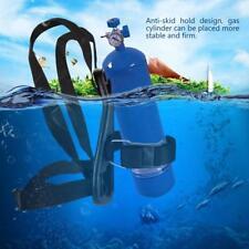 Scuba Diving Tanks Bracket Gas Cylinder Holder Oxygen Bottle Backpack Support GG