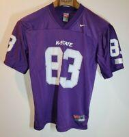 Nike K-State Wildcats #83 Football Purple Jersey Kansas Adult Size M