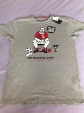 ATMOSPHERE MENS GREY T-SHIRT ENGLAND SUPPORT ' WHO ATE ALL THE PIES' SIZE M BNWT