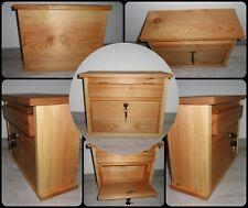 Briefkasten / Holzbriefkasten aus Lärchenholz, geölt mit Leinöl (Gravur möglich)