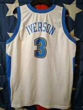 SIZE XL Denver Nuggets NBA Basketball Shirt Jersey Champion Iverson #3