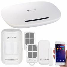 VisorTech GSM-Alarmanlage mit Funk- & Handynetz-Anbindung, App für Android & iOS