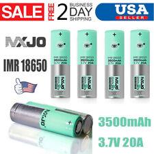4PCS IMR 18650 3500mah 20A Rechargeable Batteries Li-Ion Flat Top High Drain