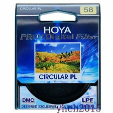New Genuine Hoya Pro1 58mm Digital Circular PL Filter CPL for Canon Nikon Lens
