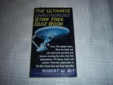 The Ultimate Unauthorized Star Trek Quiz Book By Robert W. Bly Book