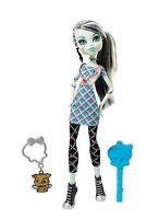 Monster High Frankie Stein CLASSROOM Look USA OVP W4139