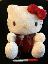 "Rare Large 30 Year Sanrio Hello Kitty 12""  from Japan-ship free"