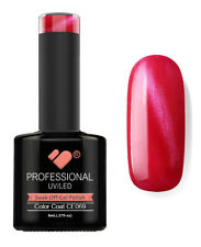 CE069 linea VB CAT EYE ROSA ROSSO METALLIZZATO-Smalto Gel-Smalto Gel Super