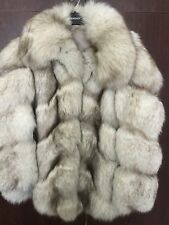 Genuine Maxwell Croft London Real Fox Fur Coat 6 8 10 12 Vintage S M