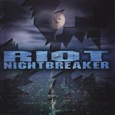 RIOT - Nightbreaker (CD 1999) *NEW* +1 Bonus Track RARE Metal Blade OOP