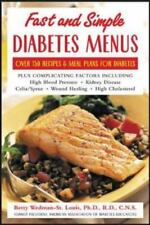 Fast and Simple Diabetes Menus : Over 125 Recipes and Meal Plans for Diabetes P