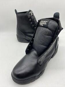 VTG Magnum Hi-Tec Men's FBI military tactical combat Black Leather boots Sz 10