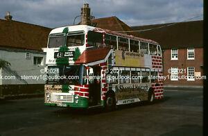 12 Original Bus & Coach slides Hants & Dorset