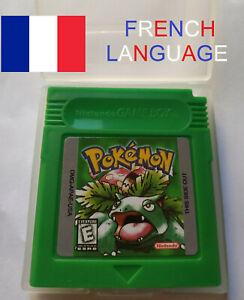 POKEMON VERT GREEN FRENCH TRANSLATION VERY RARE FOR NINTENDO GAMEBOY GAME BOY