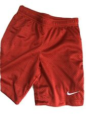 Nike Red Active / Sports Shorts boy Size 6 New