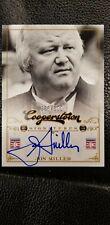 2012 Panini Cooperstown Signatures/500 #FFA-JON Jon Miller Auto Baseball Card SF