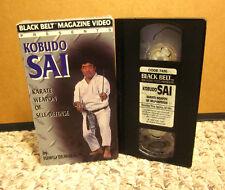 KOBUDO SAI Karate Weapon Self Defense VHS Fumio Demura skill Black Belt Magazine