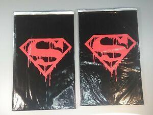 2 x DC Comics  SUPERMAN #75  Memorial Set - Death of SUPERMAN New Factory Sealed