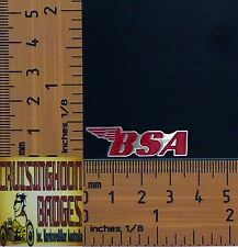 BSA Bantam, Royal Star Red Wing Logo Badge / Lapel Pin