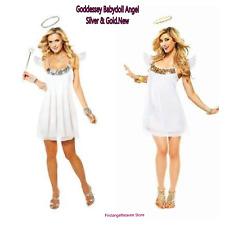 Goddessey Babydoll Angel Costume - Large Fancy Dress Dress Size 12-14