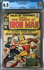 Tales of Suspense 58 CGC 6.5 Iron Man Captain America Classic Cover Marvel 1964