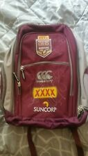 qld origin team SIGNED backpack RARE