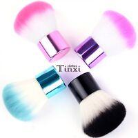 Pro Kabuki Blusher Foundation Face Eyes Powder Cosmetic Tool Makeup Brush TXCL