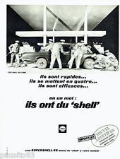 PUBLICITE ADVERTISING 026  1968   Shell   nouvel additif supershell