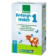 1 Box Holle Lebenswert Stage 1 Organic Milk Formula 0-6 months, Free Shipping