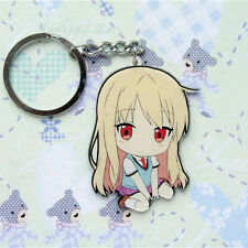 Pet Girl of Sakurasou Mashiro Shiina Acrylic Figure Keyring Charm Key Chain