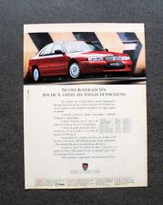 [GCG] L349- Advertising Pubblicità -1995-  NUOVA ROVER 620 SDi