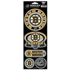 Boston Bruins Large 5 Pack Prismatic Stickers [NEW] NHL Car Sticker CDG