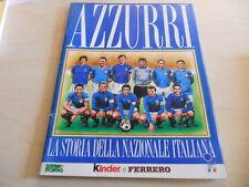 """Album Figurine Panini """"Azzurri"""" Ottimo!! Guerin Sportivo/Kinder-Ferrero 1993"""