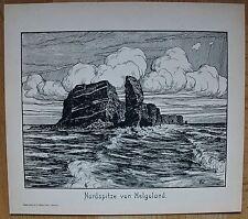 Helgoland - Ansicht von Norden aus - Friedrich Wachenhusen um 1910