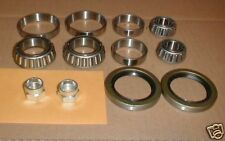 Maserati Biturbo FRONT WHEEL BEARING SET kit inner outer seals nuts * ON SALE*