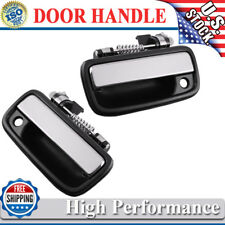 Pair Outer Chrome Exterior Front Left Right Door handle for 95-04 Toyota Tacoma