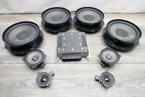 2010 SKODA SUPERB MK2 08-13 DOOR SPEAKER AMPLIFIER AUDIO SYSTEM SET BLAUPUNKT