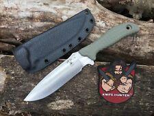 Scrap Yard Knife Co Infi SE Scrapper 5 Busse Kin knife W/ Nice BB Sheath