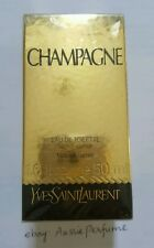 CHAMPAGNE (Yvresse) Yves Saint Laurent YSL 50ml Womes Perfume Sealed Genuine