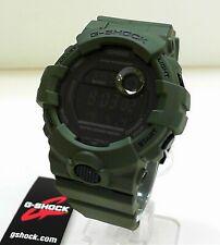 Casio G-Shock GBD-800UC-3 Olive Green Step Tracker Dual Time G-Squad Watch