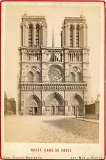 Maison Martinet, France, Paris, Notre Dame de Paris, ca.1880, vintage albumen pr