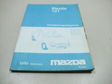 MAZDA 121 1993 elektrische Schaltpläne Wiring Repair Manual 5285-20-93L