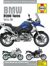 NEW Haynes Manual For BMW R1200GS,RT,ST,S Twins 2004-2009