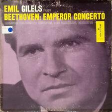 Beethoven – Emperor Concerto Emil Gilels - Piano  Sanderling Monitor MC 2033 LP