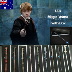 LED Harry Potter Magic Wand Hermione Voldemort Sirius Collection Gift Set Wizard