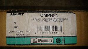 PANDUIT | CMPHF1 Horizontal D-rings Installed on Panel